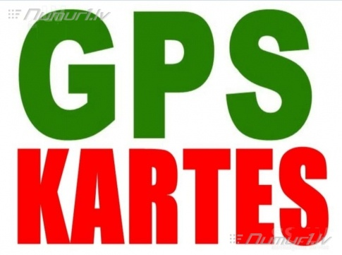 GPSJaunākās Eiropas un Latvijas kartes  automašīnu