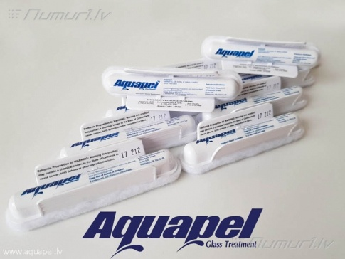 Aquapel - hidrofobs pārklājums stikliem