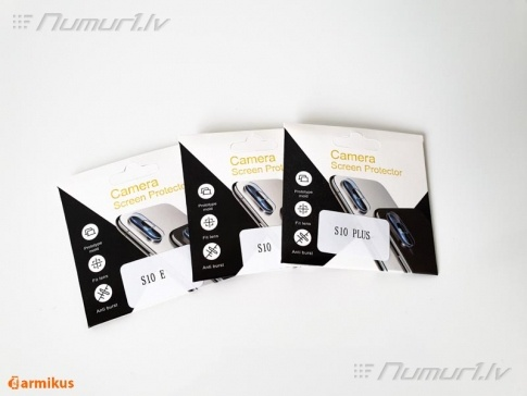 Aizsargstikli Samsung S10 viedtālruņu kamerām