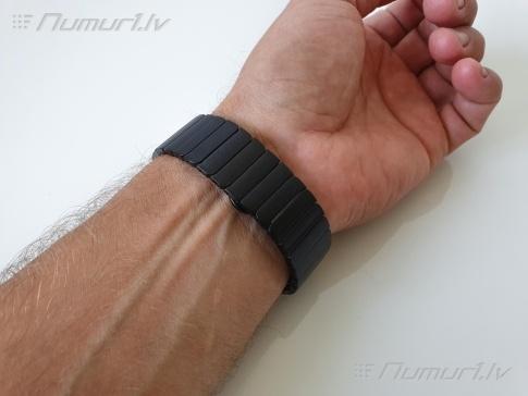 Metāla nerūsējošā tērauda aproces Apple Watch