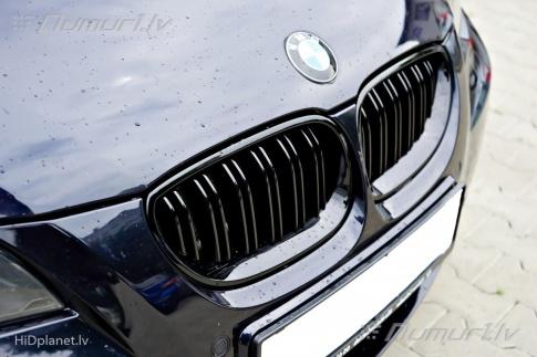 BMW melnas M-Look stila restes