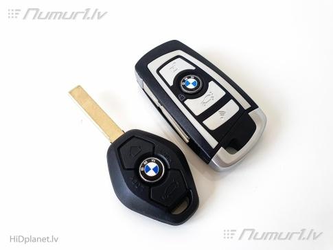 Jaunā BMW F-sērijas stila aizdedzes atslēga E-ser.