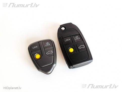 Jaunie Volvo aizdedzes atslēgas korpusi