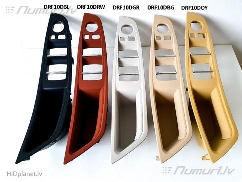BMW F10/F11 jaunie durvju paneļa rokturi vadītāja