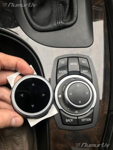 Jauna vadības paplāksne (ripa) BMW iDrive