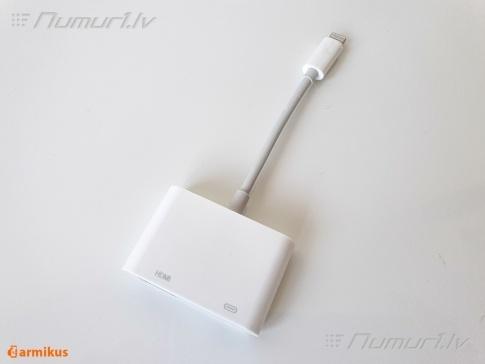 Adapteris iPhone Lightning - HDMI