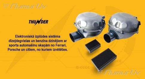 Thunder elektroniskā aktīvā izplūdes sistēma