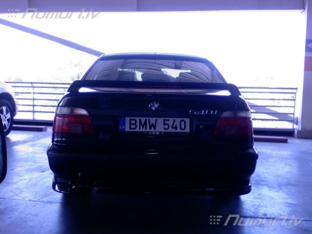 Numurbilde BMW 540