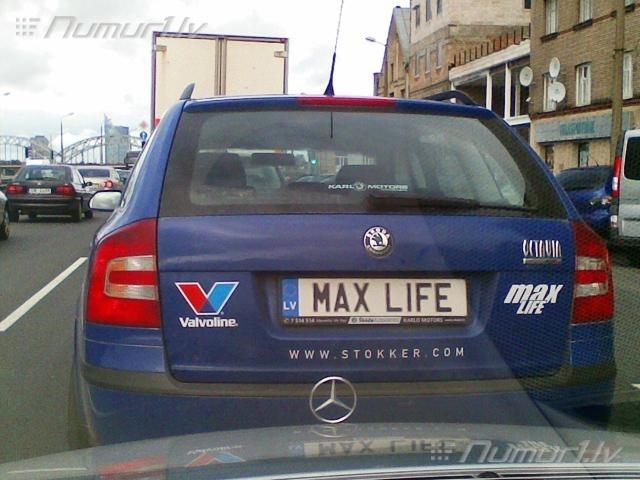 Numurbilde MAX LIFE