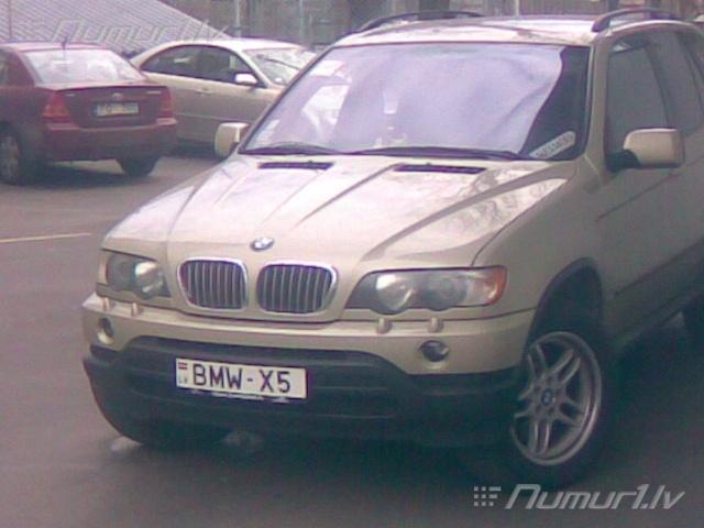 Numurbilde BMW-X5
